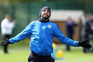 Leicester star Riyad Mahrez has been linked with big money moves away from the Midlands this summer