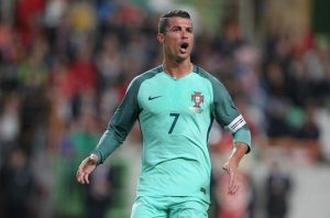 Cristiano Ronaldo sparks Portugal forward / Image via mirror.co.uk