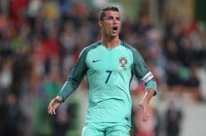 Cristiano Ronaldo sparks Portugal forward / Image via mirror.co.uk