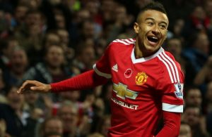Lingard's goal a moment to remember / Image via Skysports.com