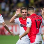 Monaco earned 3 big points against holders PSG / Image via asmonaco.com
