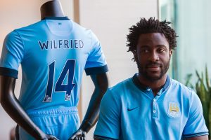 Manchester City striker Wilfried Bony looks set to move in the near future