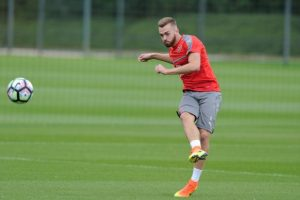 Arsenal defender Calum Chambers is set to move to Middlesbrough on a season-long loan
