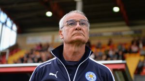 Leicester boss Claudio Ranieri will need to lift the champions after a poor start in the Premier League