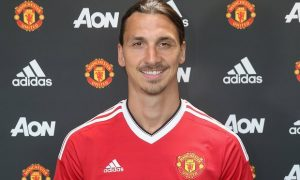 Zlatan Ibrahimovic has made a promising start to life at Manchester United