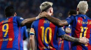 Terrific team spirit a reason behind Barca-s success / Image via Twitter