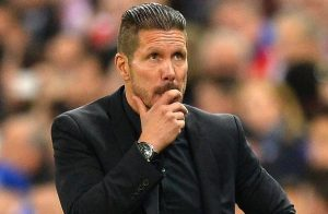 Atletico Madrid manager Diego Simeone knows his side can't afford to drop points this weekend.