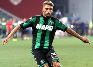 At just 22, Domenico Berardi is already Sassuolo's all-time top goalscorer. Photo: Fabrizio Forte