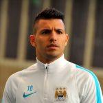 Manchester City striker Sergio Aguero will miss the Manchester derby after picking up a three-match ban