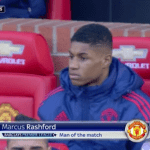 Will Marcus Rashford start Saturday's game against Leicester on the Manchester United bench?