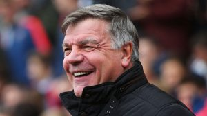 New Crystal Palace manager Sam Allardyce has a difficult first game in charge.