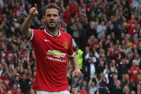 Mata's goal a difference on the night at Old Trafford / IMage via manutd.com