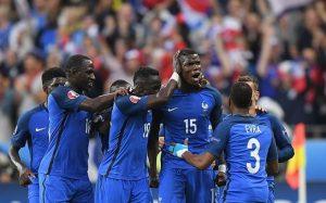 Pogba scored a fantastic winner vs the Dutch / Image by Matthias Hangst/Getty Images