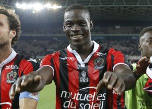 Balotelli appears to be enjoying football again after a move to Nice. Photo courtesy of Yahoo Sports