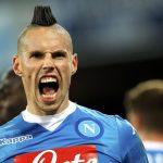 Marek Hamsik is inching closer to matching Diego Maradona's all-time record. Image via: theScore