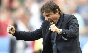 Conte enjoying his time at Chelsea / Image via 101greatgoals.com
