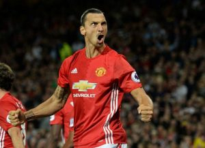 Ibra opened & closed the scoring against West Ham / Image via independent.co.uk