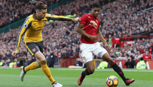 Arsenal steal a late point at Old Trafford / Image via skysports.com