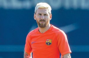 Could Messi be on his way out of Barcelona? / Image via saudigazette.com