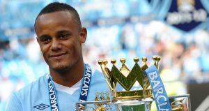 Manchester City captain Vincent Kompany is once again sidelined through injury