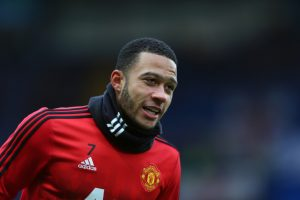 Manchester United winger Memphis Depay is being heavily linked with a move to Everton