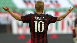 Keisuke Honda's time at Milan has been nothing short of a disappointment for the Japanese star. (Photo: Getty Images)