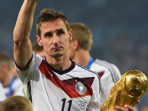 Germany legend Miroslave Klose has ended his playing career at the age of 38