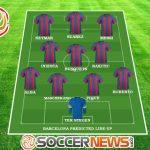 Barcelona predicted line-up / Image by SoccerNews.com