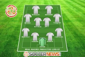 Real Madrid predicted line-up / Image by SoccerNews.com