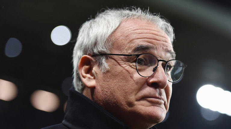 Leicester boss Claudio Ranieri is under pressure for his teams results to improve