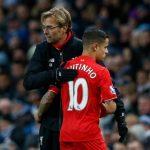 Liverpool will have to cope without star player Philippe Coutinho until mid-January