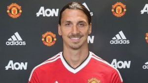 Swedish striker Zlatan Ibrahimovic is scoring goals again for Manchester United