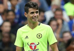 Oscar is set to to leave Chelsea in January to join Chinese club Shanghai SIPG for £60million