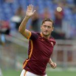 "Could Francesco Totti be saying ""arrivederci"" to the Derby della Capitale after this season? Foto Alfredo Falcone - LaPresse"