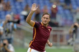 "Could Francesco Totti be saying ""arrivederci"" to the Derby della Capitale after this season? Foto Alfredo Falcone - LaPresse"
