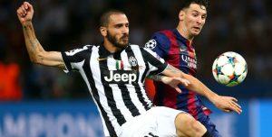 Bonucci Messi Juventus Barcelona