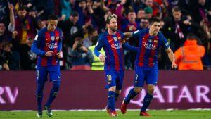 Barcelona Suarez Neymar Messi