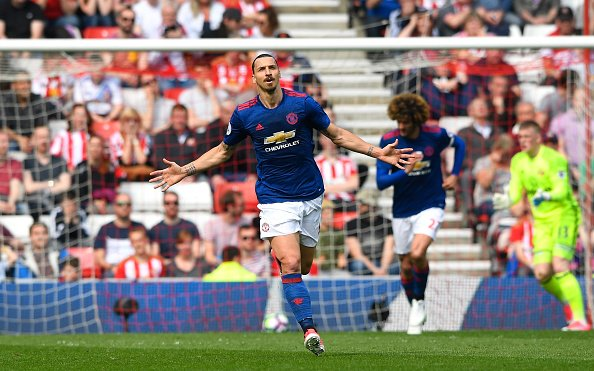 Manchester United Sunderland Zlatan