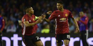 Manchester United Marcus Rashford UEFA Europa League