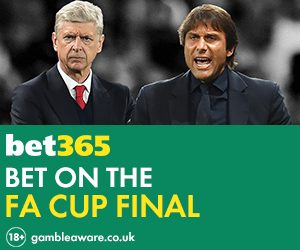 Fa cup betting line
