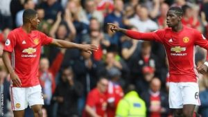 Rashford and Pogba will lead Manchester United against Celta