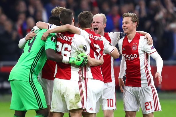 Predicted 4-3-3 Ajax Europa League line-up: Best XI