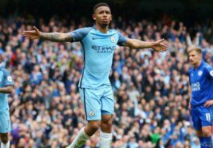Gabriel Jesus Manchester City Leicester