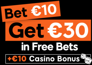 Bet 10 Get 30 in Free Bets at 888sport