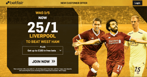 Betting liverpool to beat west ham eric bettinger notaire luxembourg