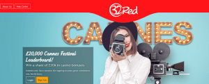 32red Cannes promotion