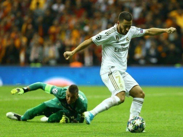 Eden Hazard Misses Empty Goal in Real Madrid's Win Over ...