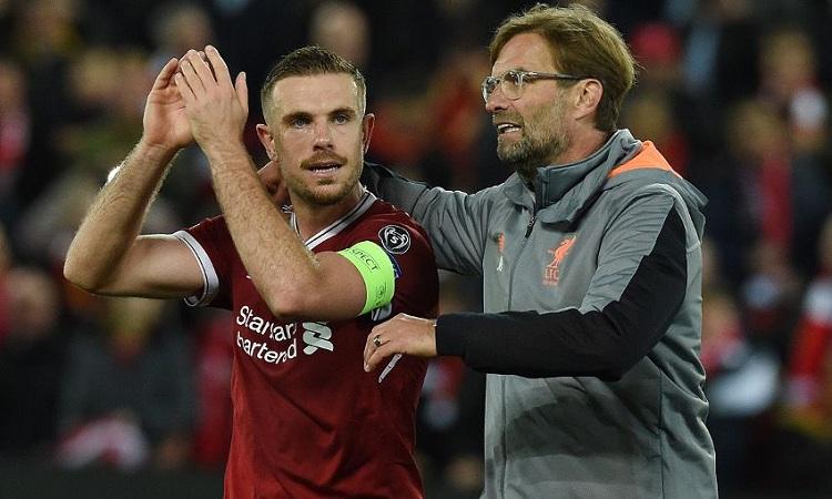 Liverpool boss Jurgen Klopp on injured captain...