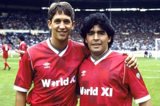 Gary Lineker shares his experience with the passion and football skills of Diego Armando Maradona (Video)