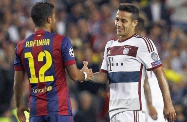 PSG wanted Thiago Alcantara but signed Rafinha instead